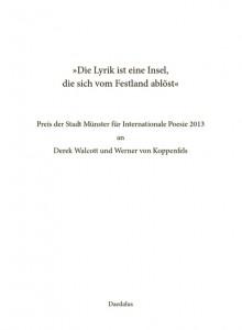 ISBN 9783891262337 Die Lyrik ist eine Insel
